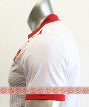 Áo Việt Nam trắng cổ bẻ sân khách 21-22 mặt lưng
