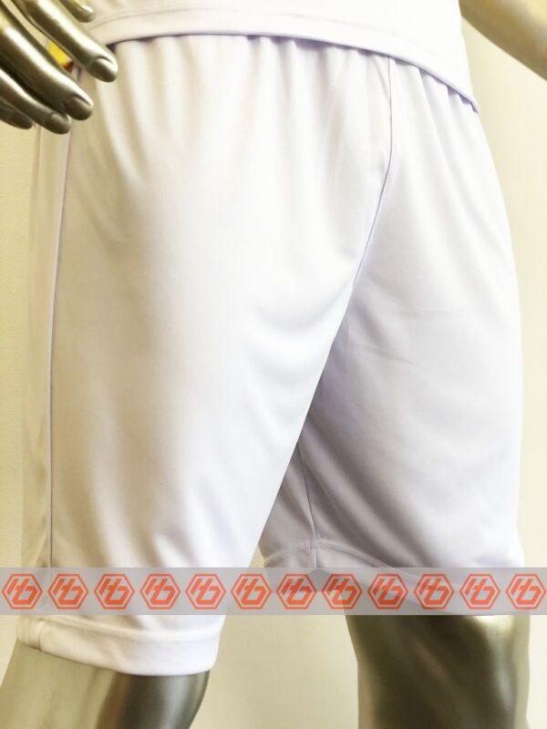 Áo Việt Nam trắng cổ bẻ sân khách 21-22 mặt quần