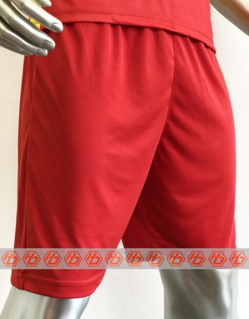 Áo đấu Việt Nam màu đỏ cổ tròn sân nhà 21-22 mặt quần