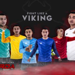 Áo thủ môn không logo cao cấp Bulbal GRADA 6 màu