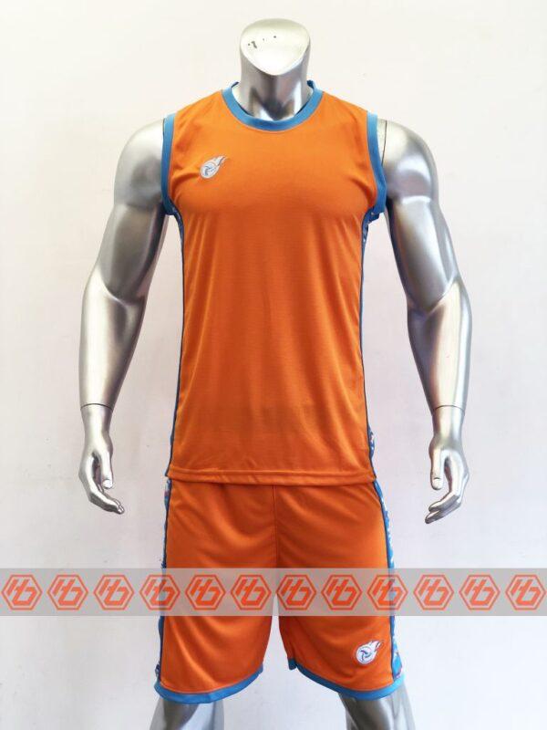 Áo bóng rổ CAMO màu CAM