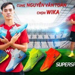 Giày đá banh Wika Superspeed TF 4 màu