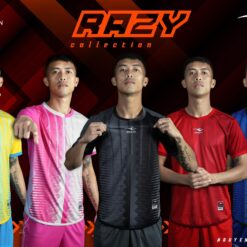 Áo bóng đá không logo cao cấp KEEP & FLY RAZY cao cấp 6 màu