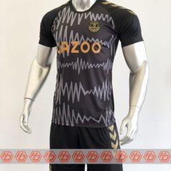 Quần áo bóng đá Everton màu Đen mùa giải 20-21 mặt nghiêng
