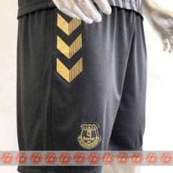 Quần áo bóng đá Everton màu Đen mùa giải 20-21 mặt quần