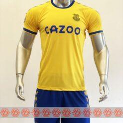 Quần áo bóng đá Everton màu Vàng mùa giải 20-21