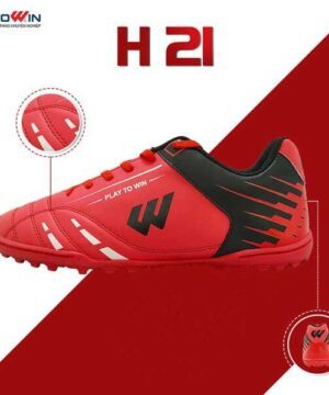 Giày đá banh Prowin H21 màu đỏ
