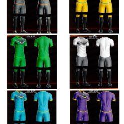 Áo bóng đá không logo thiết kế Keep & Fly MONSTER thun lạnh cao cấp 6 màu