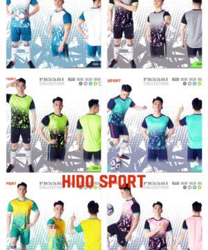 Áo bóng đá không logo thiết kế Just Play PASSAT vải mè cao cấp 6 màu