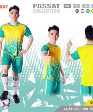 Áo bóng đá không logo Just Play PASSAT màu Vàng