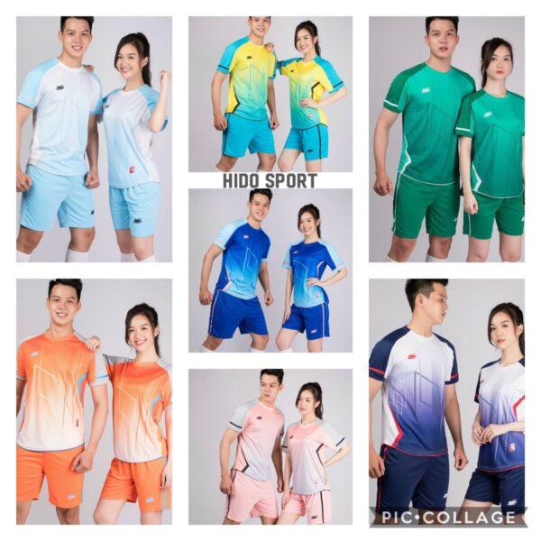 Áo bóng đá không logo Riki GEM chất vải R-Airmaxx cao cấp 7 màu