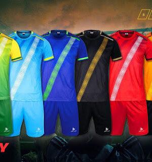 Áo bóng đá không logo thiết kế Just Play VERTY thun lạnh cao cấp 6 màu