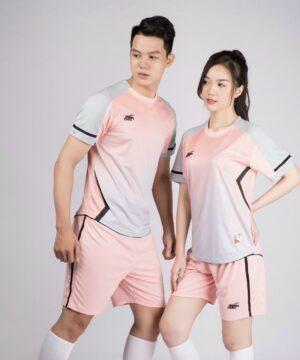 Áo bóng đá không logo Riki GEM màu Hồng