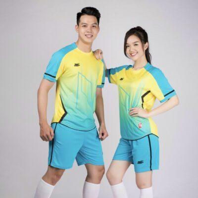 Áo bóng đá không logo Riki GEM màu vàng