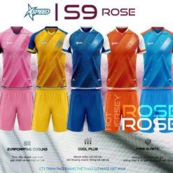Áo bóng đá không logo XPEED-S9 ROSE