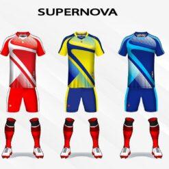 Áo bóng đá không logo thiết kế Just Play SUPERNOVA thun lạnh cao cấp 5 màu