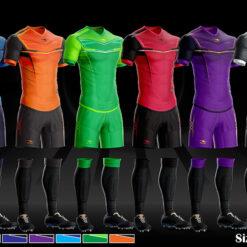 Áo bóng đá không logo thiết kế Keep & Fly PUNCH thun lạnh cao cấp 8 màu