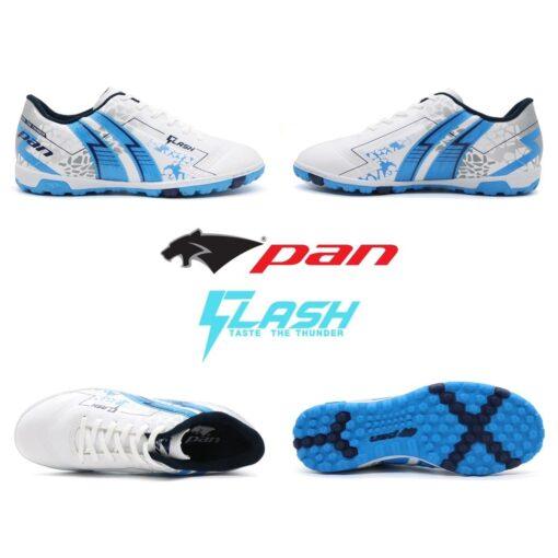 Giày Pan FLASH đế đinh TF trắng