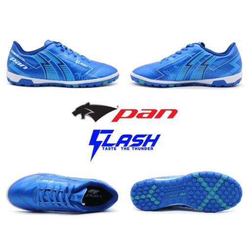 Giày Pan FLASH đế đinh TF màu Xanh bích