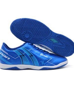 Giày đá banh Pan FLASH màu xanh bích