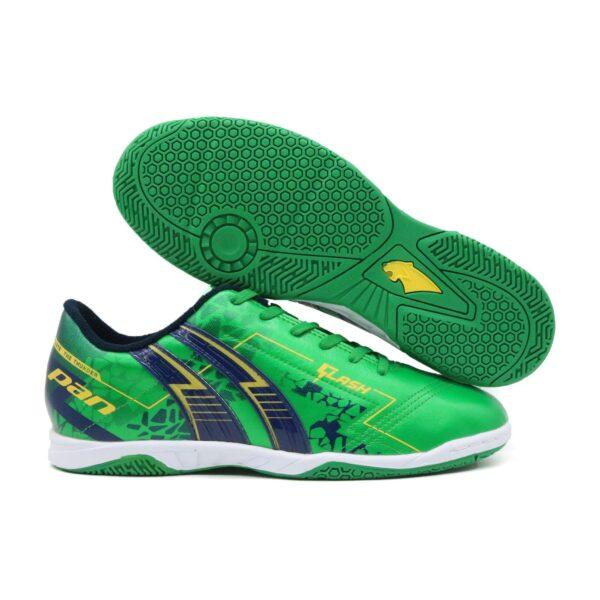 Giày đá banh Pan FLASH màu xanh lá