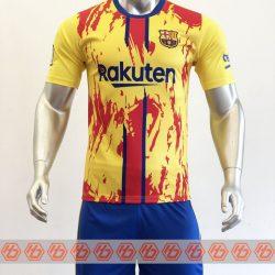 Áo Barcelona màu vàng 2021-2022