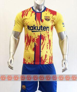 Quần áo bóng đá CLB Barcelona màu Vàng mùa giải 21-22