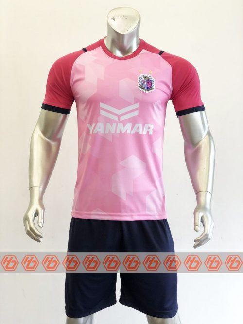 Quần áo bóng đá CLB Cezero Osaka màu Hồng mùa giải 21-22