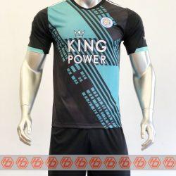 Áo Leicester màu đen 2021-2022