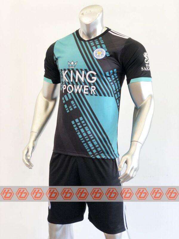Quần áo bóng đá CLB Leicester màu Đen mùa giải 21-22
