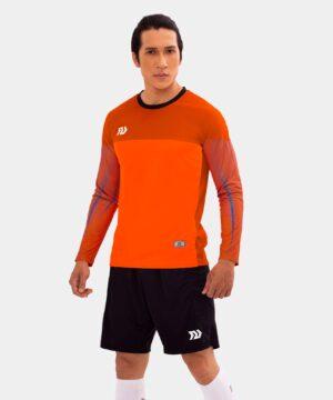 Áo thủ môn không logo Bul Bal - Viking màu cam