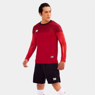 Áo thủ môn không logo Bul Bal - Viking màu Đỏ