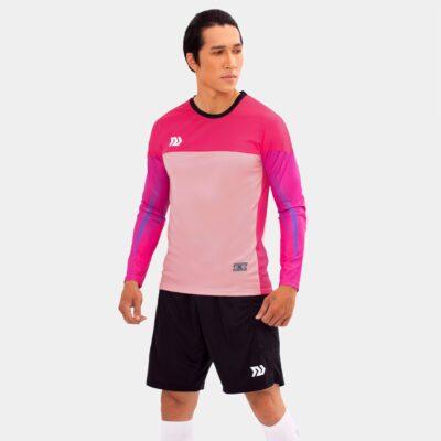 Áo thủ môn không logo Bul Bal - Viking màu hồng