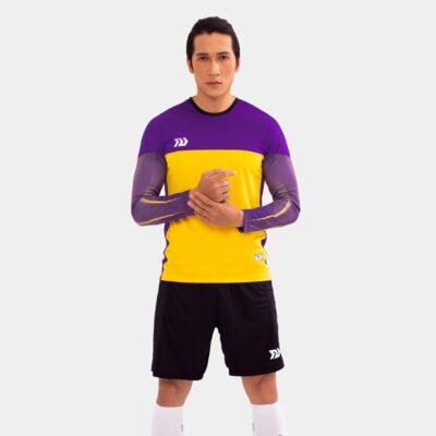 Áo thủ môn không logo Bul Bal - Viking màu tím