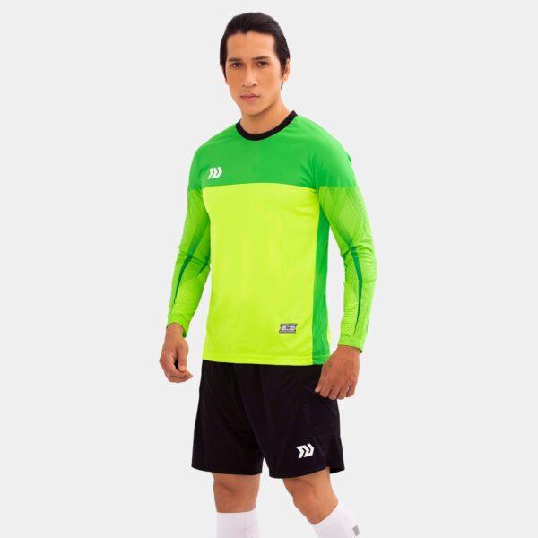Áo thủ môn không logo Bul Bal - Viking màu xanh lá