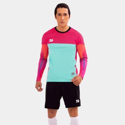 Áo thủ môn không logo Bul Bal - Viking màu xanh ngọc
