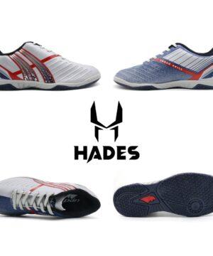 Giày đá banh Đế bằng IC PAN Hades Sân cỏ nhân tạo màu Xanh phối Xám mới