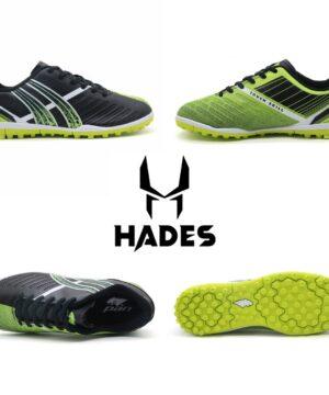 Giày đá banh Đế bằng IC PAN Hades Sân cỏ nhân tạo màu Xanh phối đen mới