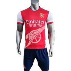 Áo Arsenal Fanmade màu đỏ 2021-2022