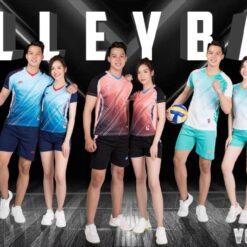 Áo bóng chuyền RIKI - VOL 1 vải mè cao cấp 5 màu