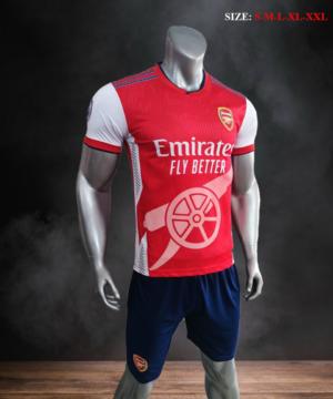 Quần áo bóng đá CLB ARSENAL màu Đỏ mùa giải 21-22