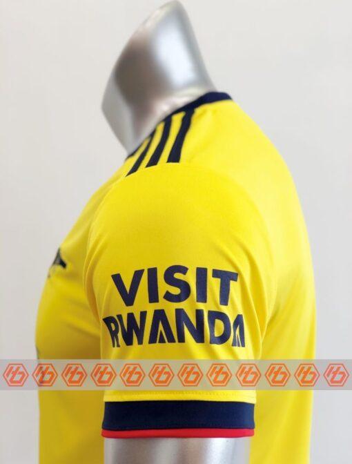 Quần áo bóng đá CLB ARSENAL màu Vàng mùa giải 21-22