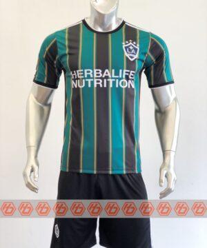 Quần áo bóng đá CLB Galaxy màu Đen mùa giải 21-22