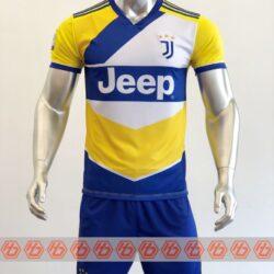 Áo Juventus sân khách màu vàng 2021-2022
