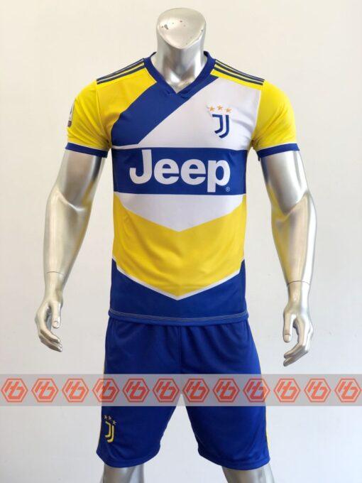 Quần áo bóng đá CLB JUVENTUS màu Vàng mùa giải 21-22