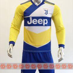 Áo Juventus tay dài màu vàng 2021-2022
