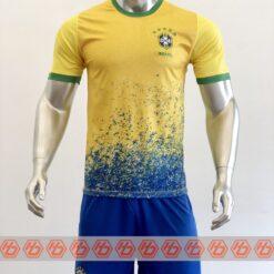 Quần áo bóng đá đội tuyển Brazil màu Vàng mùa giải 21-22