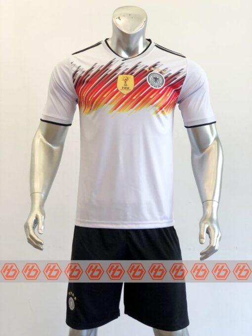 Áo đấu đội tuyển Đức Fanmade màu Trắng mùa giải 21-22