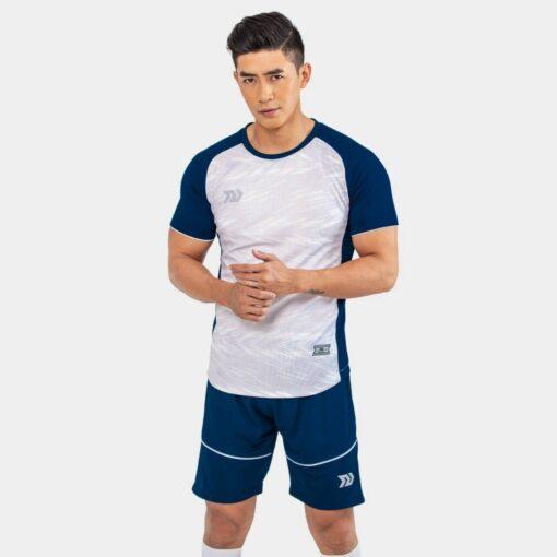 Áo bóng đá không logo Bul Bal - 6CITY màu Trắng