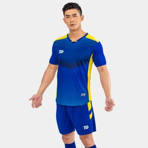 Áo bóng đá không logo Bul Bal - 6CITY màu xanh bích
